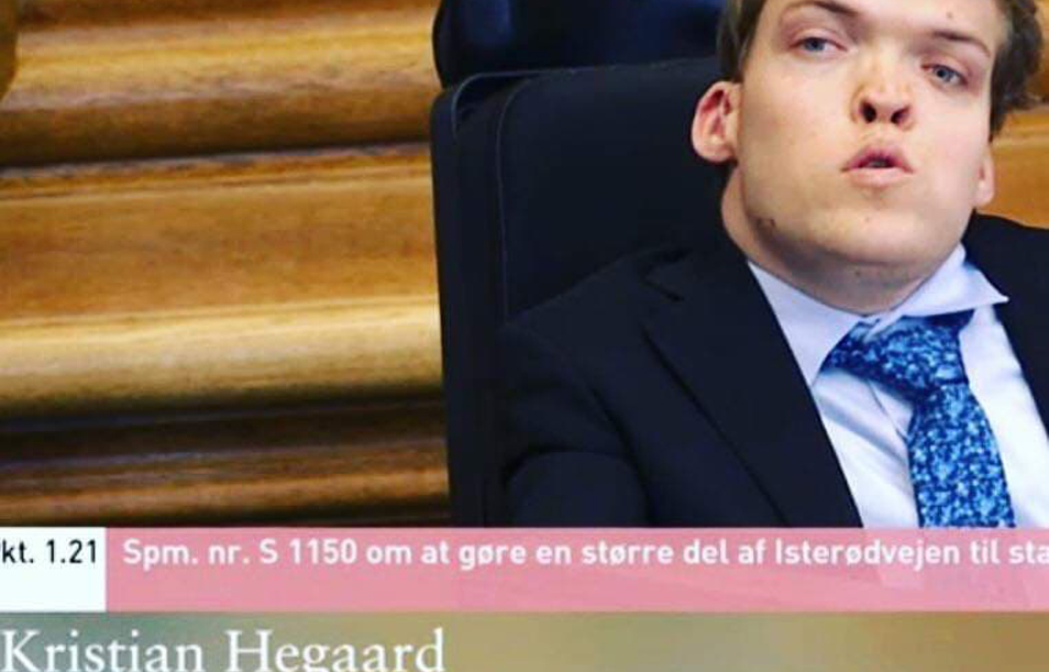 Politiker Kristian Hegaard