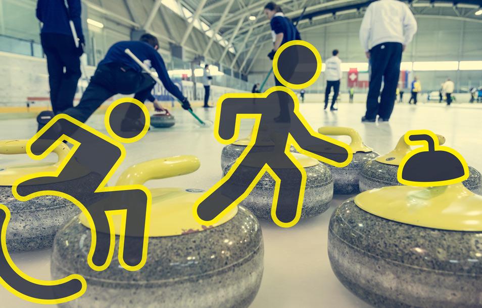 Curlingforældre og deres handicappede børn