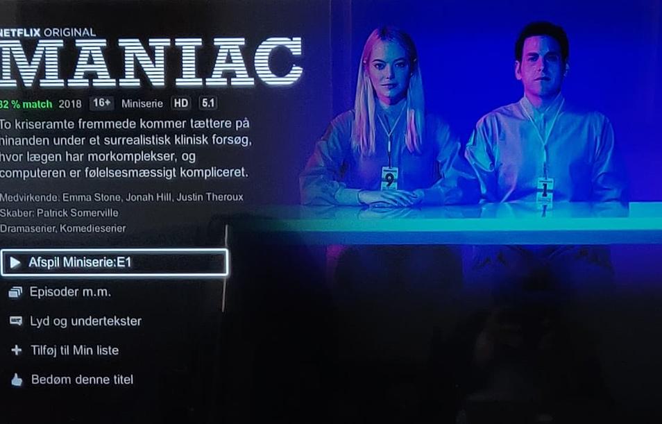 Anmeldelse af Maniac - en miniserie på Netflix